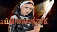 Porno video and nuns Petite teen warrior nun is begging for your dick