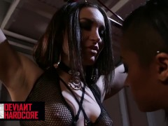 Deviant Hardcore - Sub Gabriella Paltrova Gets Dominated By Black Skin