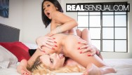 Stinkys song fuck it - Slim asian saya song meets the hot busty blonde brianna banks - realsensual