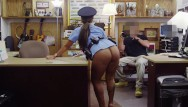 Vintage pelit gun shooting trap Xxxpawn - big booty latin police woman tries to sell her gun, ends up selli
