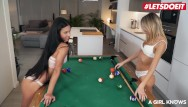 It lesbian on - A girl knows - hot petite lesbian teen apolonia lapiedra seduces her bff