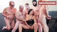 Ultimate gang bang movie Elina flower the ultimate gangbang whore