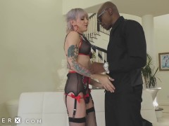 Genderx - Lena Kelly Is Greedy For Black Cock