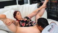 Redhead hairy galleries Hairy bbw ginger is horny for cunnilingus