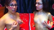 Teenage lesbian whores Wild lesbian whores performing live on live webcam with black strapon