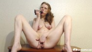 Home toy teens torrent - Aunt uses a huge dildo on her snatch