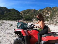 Sinslife - Nude Donuts & Penetrating On An Atv!