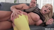 Anal beads fuck me - Voluptuous big tits milf takes a big cock in her ass after titty fucking