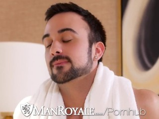 ManRoyale Couple Fuck In Hotel Room After Workout