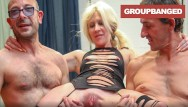 Young and old fucking large dick Large labia slut filling her holes