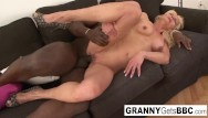 Xhamster mature interracial grannies Granny gets her pussy pounded by bbc