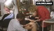 Choe vevrier vintage Pussy shaving before salon fuck