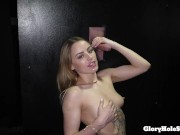 Hot Blonde Gets All The Cum She Needs In The Gh