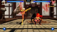 Nadege sex fight Game play hentai fighter - wings vs wings