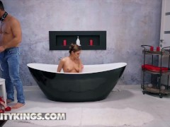 Reality Kings - Kinky Black-haired Alyssa Reece Gets Her Arse Drilled