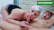 Oral sex mouth piece Granny wants a piece of my cock