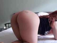 Teen Phat Ass White Girl Dirty Dancing Nude In Bed