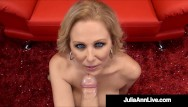 Quake live sucks stutters What holy milf blowjobs julia ann milks, sucks busts a blue nut