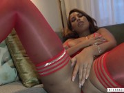 Curvy Spanish MILF Bridgette B goes 3holer with Jax today in this very hot