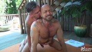 Uncut gay cock tubes Hunk jessie colter rimmed and fucked by hung uncut daddy