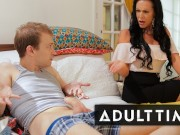 Caught Fapping - Stepmom Teaches Stepson How To Fuck
