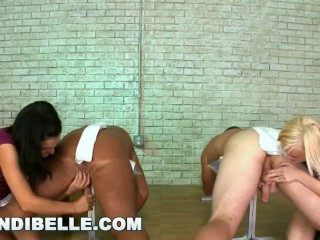 BRANDI BELLE - Young Teens Milking The Penis