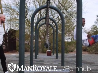 ManRoyale Flirting Gets The Dick Hard For Rough Sex