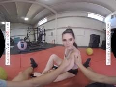 Naughty America - Gianna Gem Rams You In The Gym