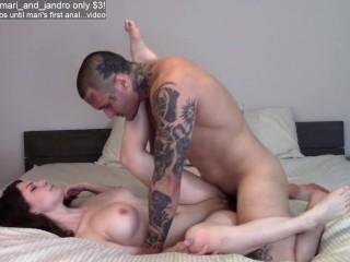 Jandro makes Mari orgasm twice