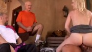 Mature swinging wives Blonde wife swings for hubby