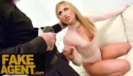 Hardcore movie cast Fake agent super cute blonde loves hardcore casting with big cock agent