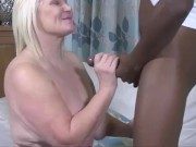 LACEYSTARR - Hot Granny Analised By BBC