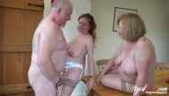 Saggy tit mature seduces young Agedlove two matures seduced handy man