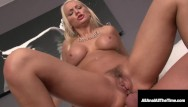 Sex packing Ass gaping busty blonde kenzie taylor gets first anal fudge packing ever
