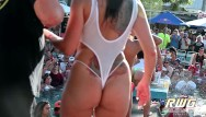 Jessica abiel naked Naked pool party sluts booty shake contest