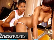 Fitness Rooms Big Ass Big Ebony Lesbians Sade Rose Isabella Chrystin In Gym