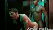 Com gay Falconstudios - reserved businessman visits glory hole room