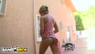 Blonde swallow cum Bangbros - blonde pawg capri cavalli swallows a hot load of cum