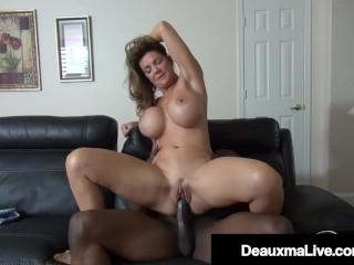 In Debt Cougar Deauxma Gets Fucked By A Big Black Cock Bill Collector!