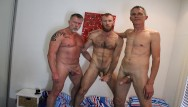 Aussi gays movies A gay couple invite random aussie stranger and both bareback him raw