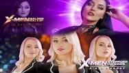 Free xxx titjob cumshot compilation X-men xxx cosplay battle: selene gallio vs stepford cuckoos. who wins