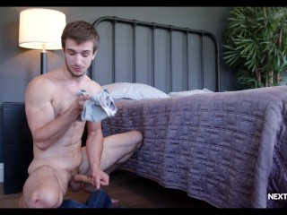 NextDoorRaw – Donte Thick Caught Smelling Roommate's Underwear