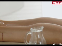White Boxxx - Liya Silver Big Orbs Russian Teen First Time Ass Fucking On The Massage Table