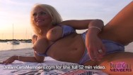 Fully naked boobs Smokin hot big boob blonde gets naked on a public beach