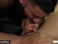 Bromo - Tattooed Rikk Yorki Gets His Bum Drilled Raw By Damien Stone