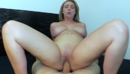 Babe crams huge cock All hot busty babe brooke wylde takes a huge cock