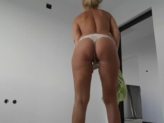 Young Stepmom and Stepson alone home fuck again