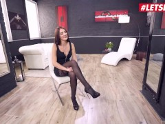 Her Confine - Katy Rose Steaming Bouncy Bum Czech Stunner Get Deep Anal Invasion Fucky-fucky From A Large Dark-hued Cock