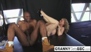 Mature interracial impregnate Interracial legend in her sexy lingerie