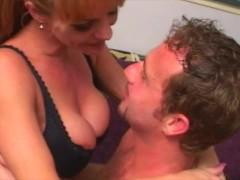 Huge Melon Cougar Sara Ashley Gives Original Cougar Hunter Deepthroat Job And Tit Fuck- Part-1